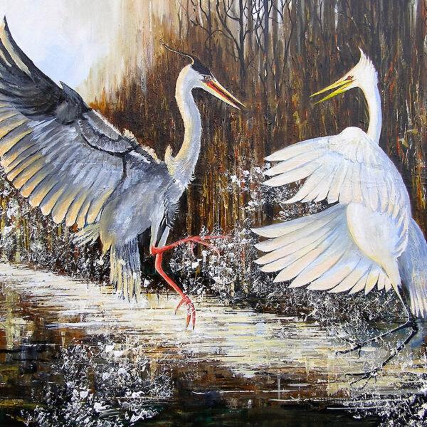 Larry Malkin - Cranes