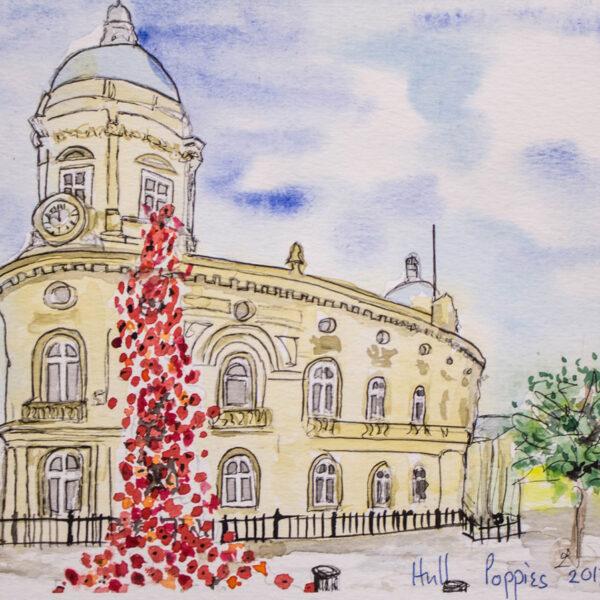 Jane Lodge - Poppies, Hull