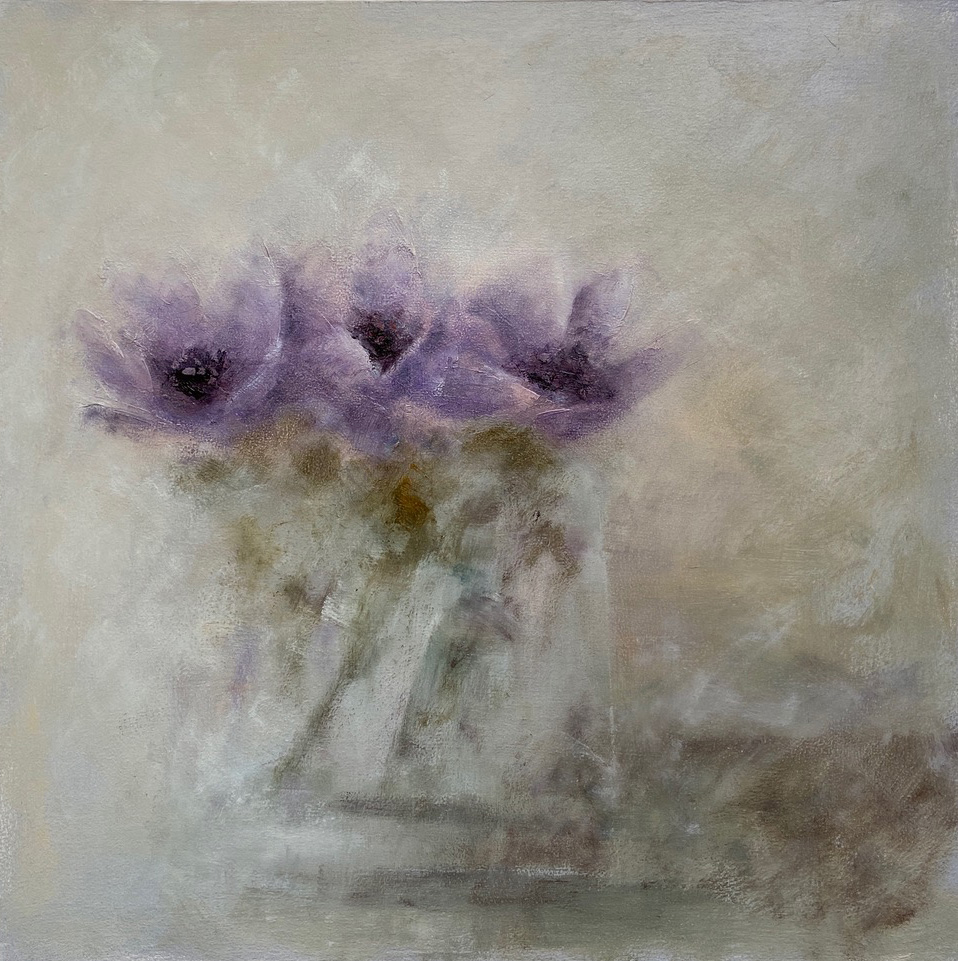 Irena Kurowska - Bowl of Anemones
